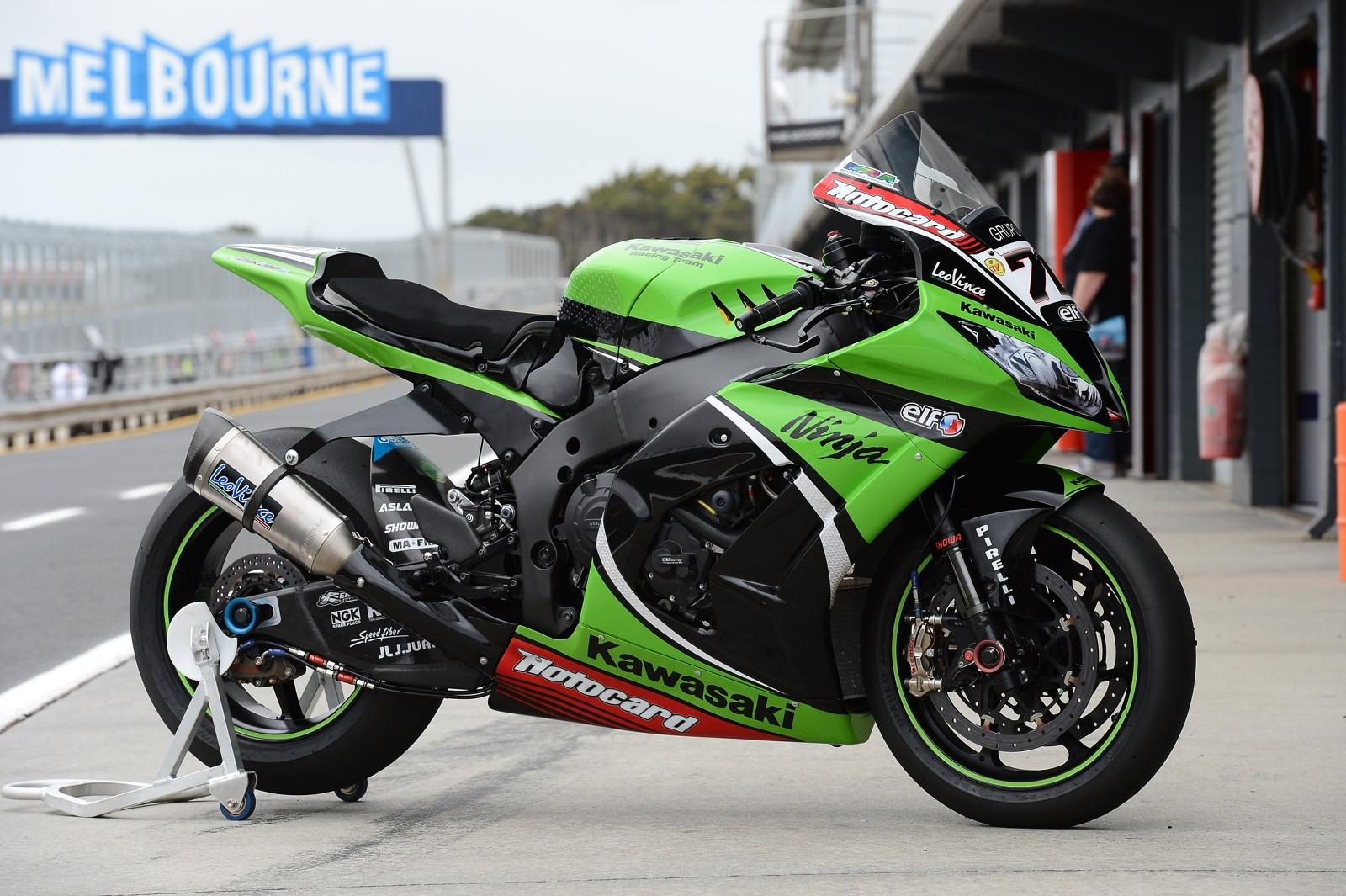 Kawasaki Superbikes 2013